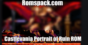 Castlevania Portrait of Ruin ROM