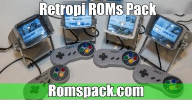 Retropie Roms Pack