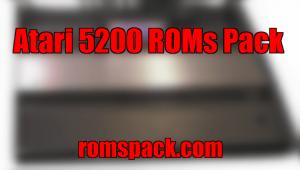 Atari 5200 ROMs Pack