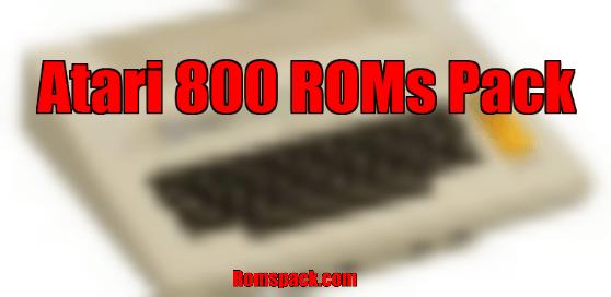 Atari 800 ROMs Pack
